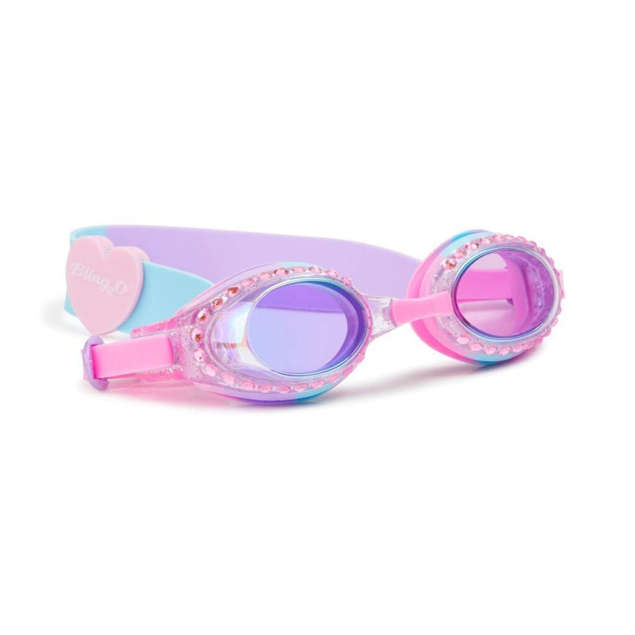Bling2O - Classic Edition Swim Goggles - Bubblegum Blue Swim Goggles Bling2O