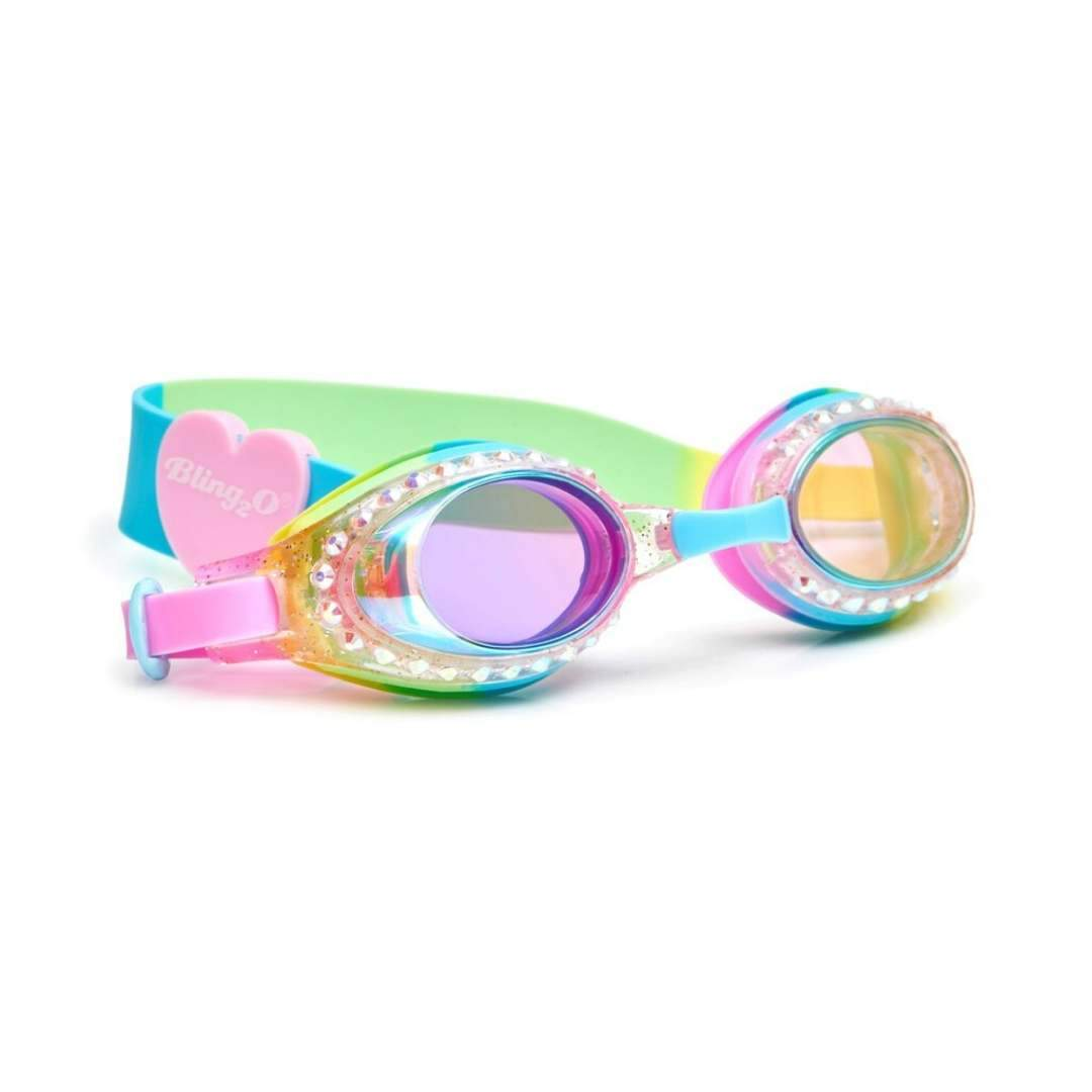 Bling2O - Classic Edition Swim Goggles - Cotton Candy Swirl Swim Goggles Bling2O