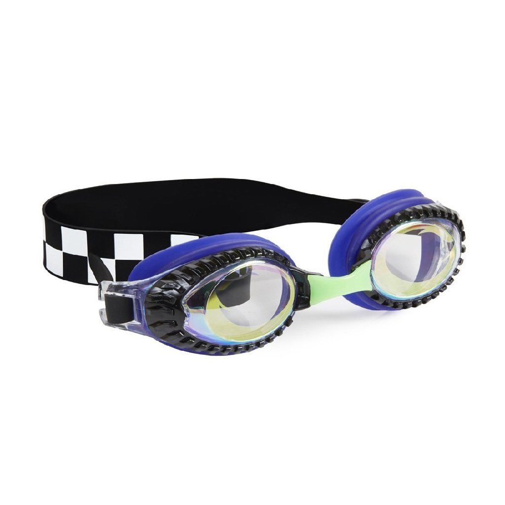 Bling2O - Drag Race Swim Goggles - Hot Rod Royal Swim Goggles Bling2O