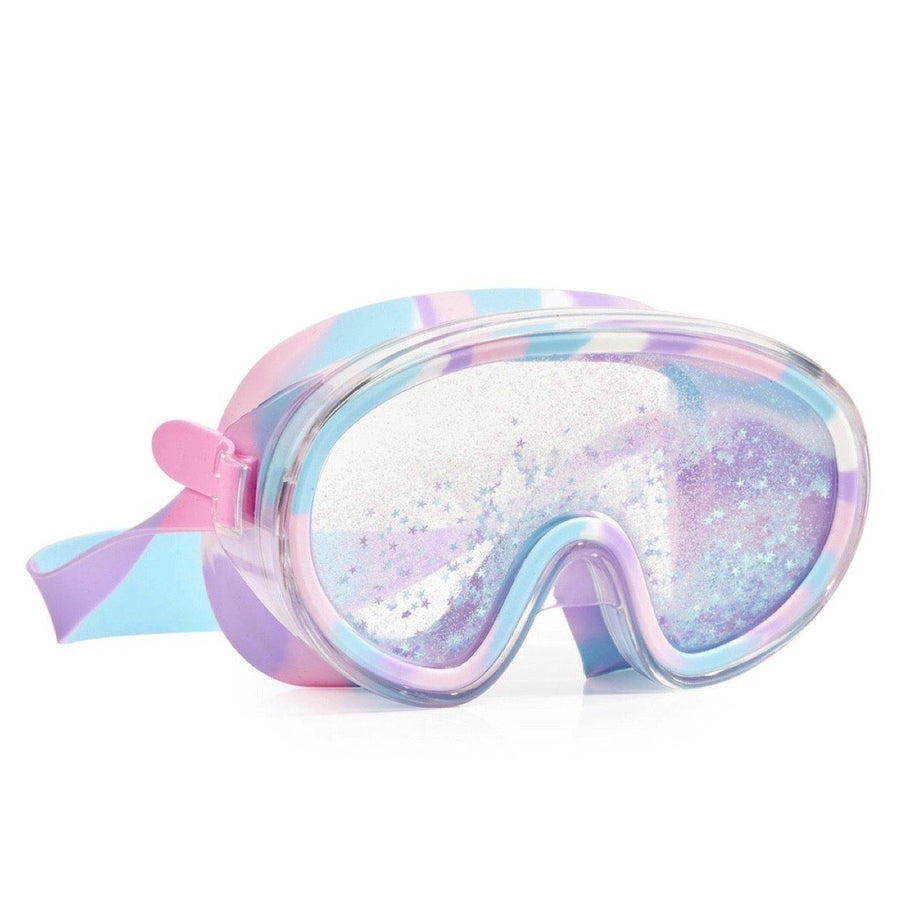 Bling2O - Float N Away Swim Mask - Brilliant Blue Swim Goggles Bling2O