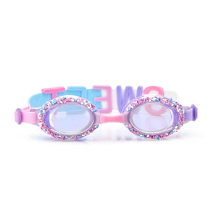 Bling2O - Funfetti Swim Goggles - Nonpareils Purple Swim Goggles Bling2O