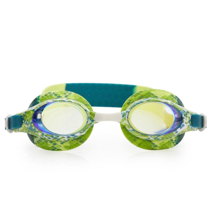 Bling2O - Jake the Snake Swim Goggles - Garter Green Swim Goggles Bling2O