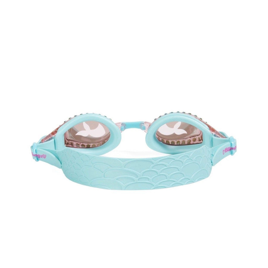 Bling2O - Jewel Mermaid Swim Goggles - Blue Sushi Swim Goggles Bling2O
