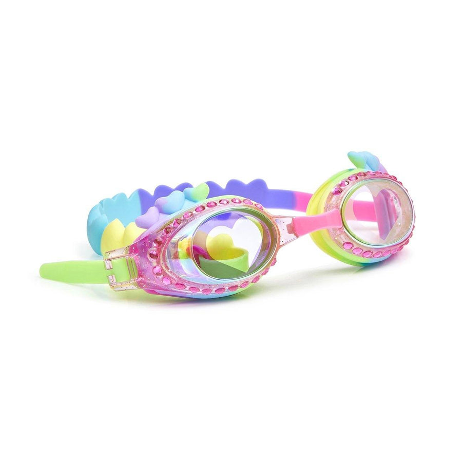 Bling2O - Luvs Me Luvs Me Not Swim Goggles - I Luv Cotton Candy Swim Goggles Bling2O