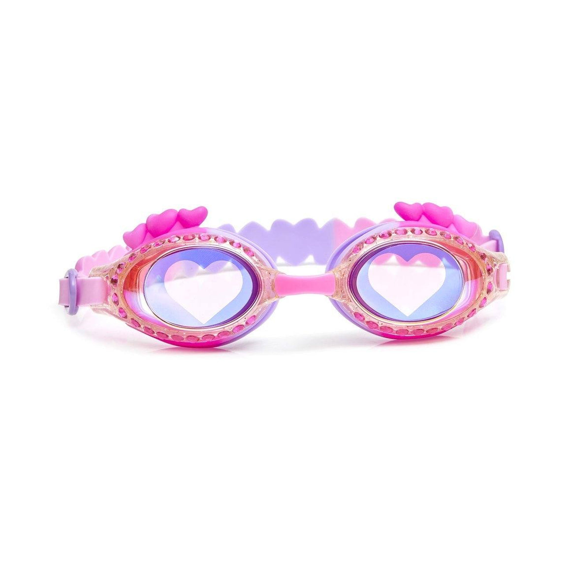 Bling2O - Luvs Me Luvs Me Not Swim Goggles - True Luv Pink Swim Goggles Bling2O