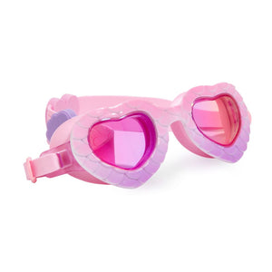 Bling2O - Mermaid In The Shade Swim Goggles - Shell Pink Purple Swim Goggles Bling2O