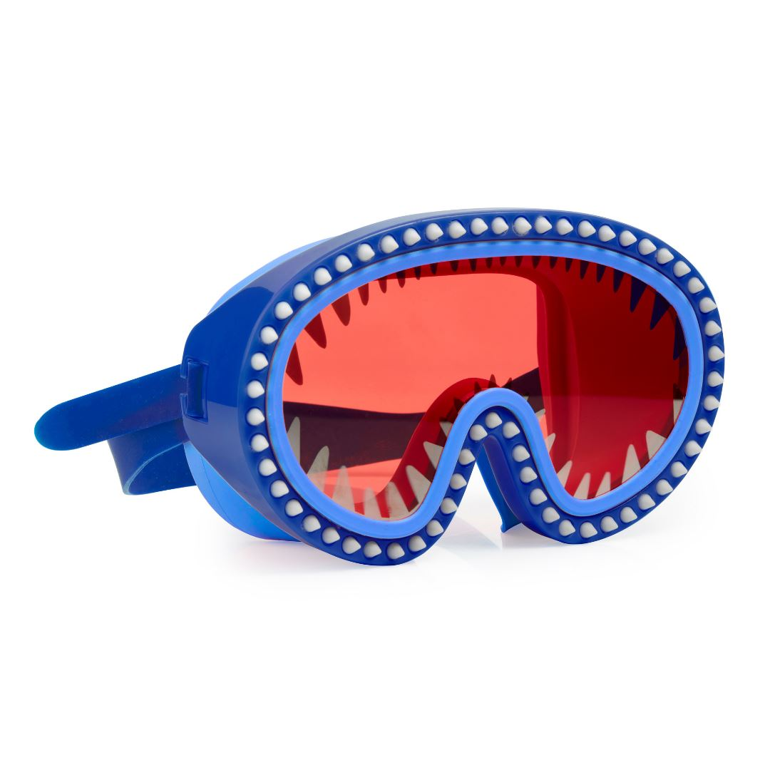 Bling2O - Shark Attack Swim Mask - Nibbles Red Lens Swim Goggles Bling2O