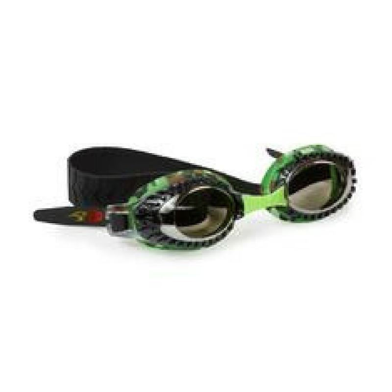 Bling2O -Swim Goggles - Terrain Vehicle - General Green Swim Goggles Bling2O