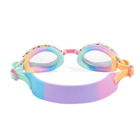 Bling2O - Take a Dip N Dots Swim Goggles - Plunge Pink/Purple Swim Goggles Bling2O
