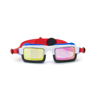 Bling2o - Truck Norris Swim Googles - Breaker Breaker White Swim Goggles Bling2o