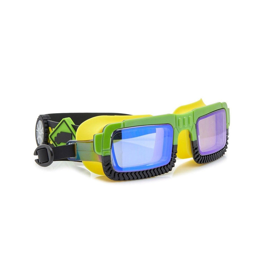 Bling2o - Truck Norris Swim Googles - John Deer Green Swim Goggles Bling2o