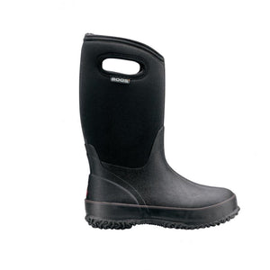 BOGS 52065-001 - Classic Handles Kids' Insulated Boots (Black) (Toddler 7 - Youth 4) Footwear Bogs