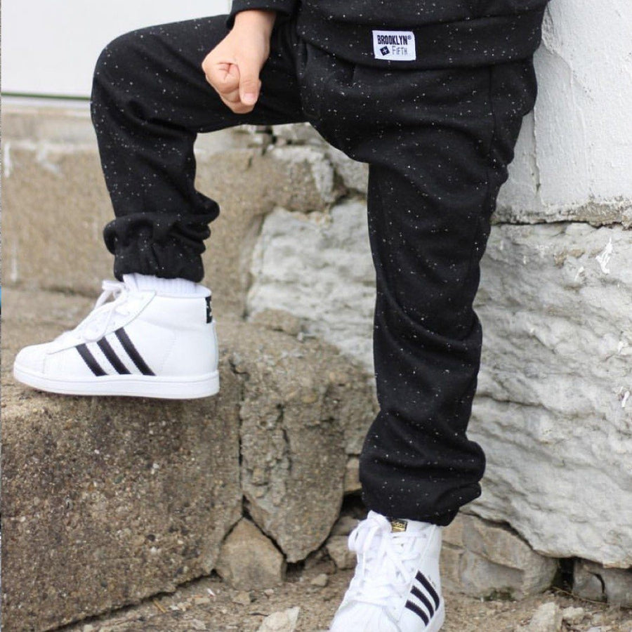 Brooklyn & Fifth - Black Streetwear City Joggers Pants Brooklyn & Fifth