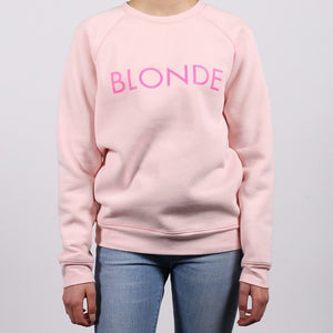 Brunette the Label - Blonde Ballet Slipper Crewneck Sweatshirt Sweatshirt Brunette the Label