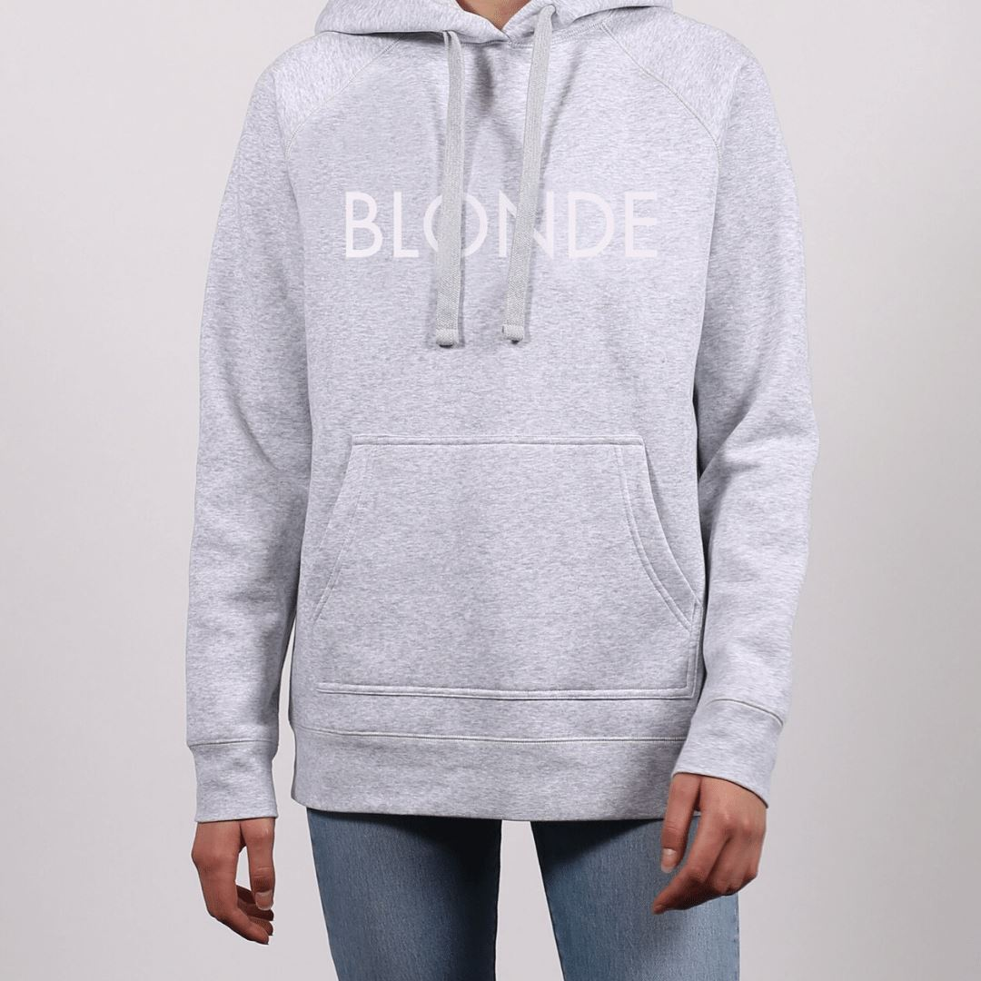Brunette the Label - Blonde Classic Hoodie - Pebble Grey Sweatshirt Brunette the Label