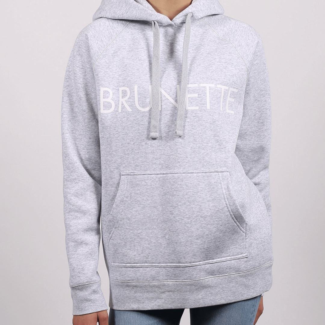 Brunette the Label - Brunette Classic Hoodie - Pebble Grey Sweatshirt Brunette the Label
