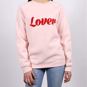 Brunette the Label - Lover Ballet Slipper Crewneck Sweatshirt Sweatshirt Brunette the Label