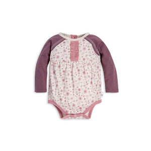 Burt's Bees Baby- In the Orchard Organic Baby Bodysuit - Grape Onesie Burt's Bees Baby