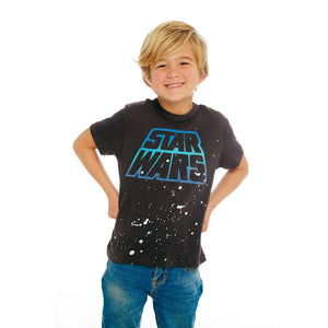 CB103907-STW001 Chaser - STAR WARS Vintage Black Tee Short Sleeve Shirts Chaser