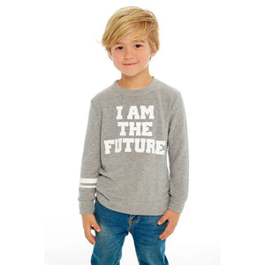 CB1049-CHK1367 Chaser - I Am The Future Long Sleeve Pullover Sweatshirt Chaser