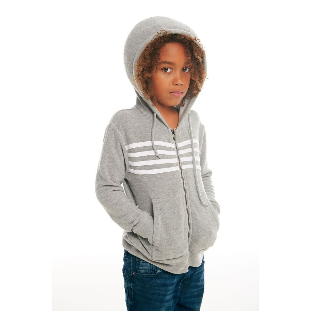 CB1080 Chaser - Unisex Heather Grey Hoodie Sweatshirt Chaser