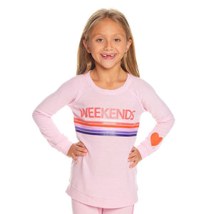 Chaser - Weekends Knit Pullover Sweatshirt Chaser