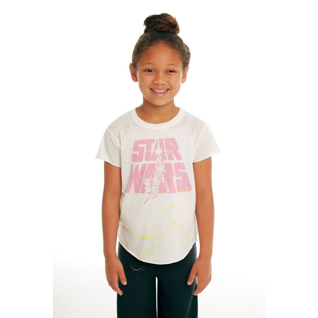 CHTW38-STW023 Chaser -Star Wars Luke & Leia Tee Short Sleeve Shirts Chaser