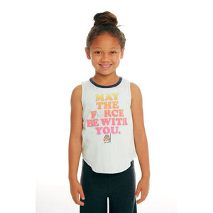 CHTW70-STW026 Chaser -STAR WARS Glitter Force Tank Top Tank Top Chaser