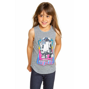 CHTW71-STW027 Chaser -STAR WARS R2 D2 Tank Top Tank Top Chaser