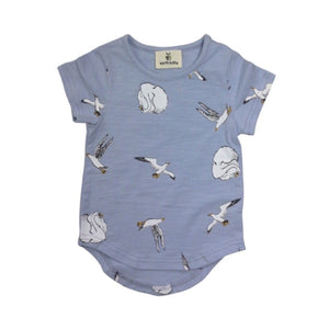 Earth Baby Outfitters - Swans Organic Cotton Baby T Short Sleeve Shirts Earth Baby Outfitters