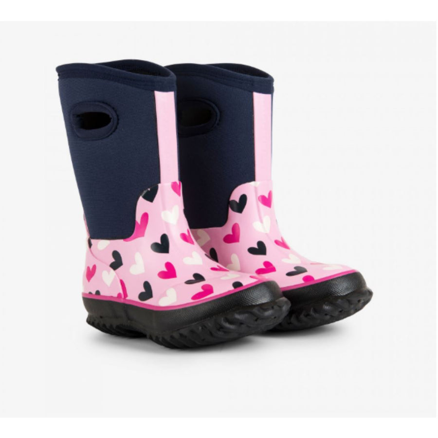 F18MHK090 - Multi Hearts All Weather Boots Rain Boots Hatley