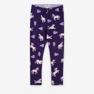 F18MLK1222 - Hatley Majestic Unicorns Girls Leggings Leggings Hatley