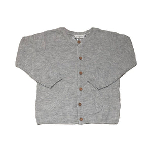 Fixoni - Grey Signature Cardigan Sweater Fixoni
