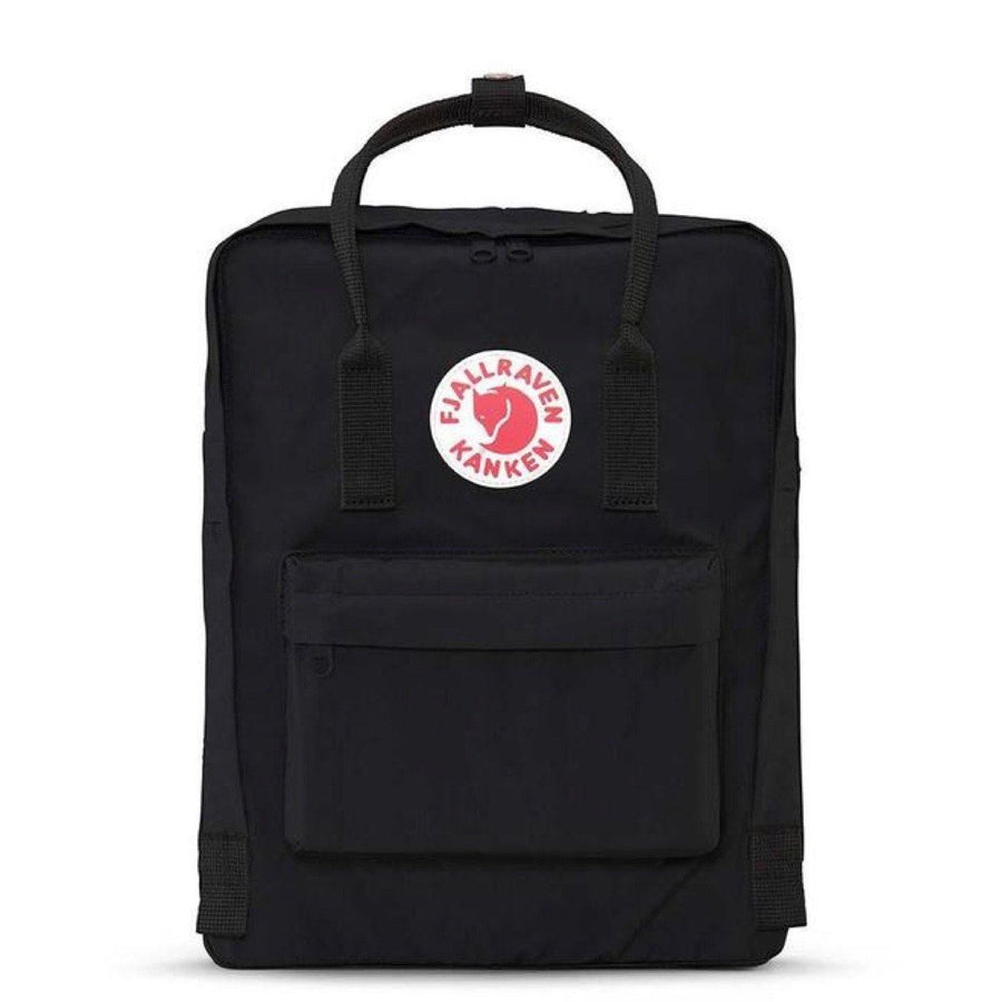 Fjallraven - Kanken 16L Back Pack - Black Backpack Fjallraven