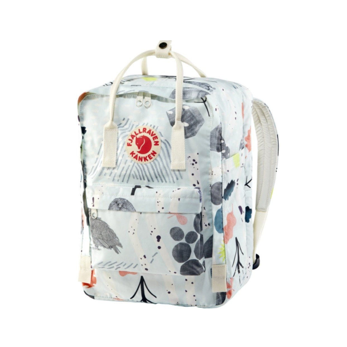 "Fjallraven - Kanken Art 15"" Laptop Back Pack - Birch Forest Backpack Fjallraven"