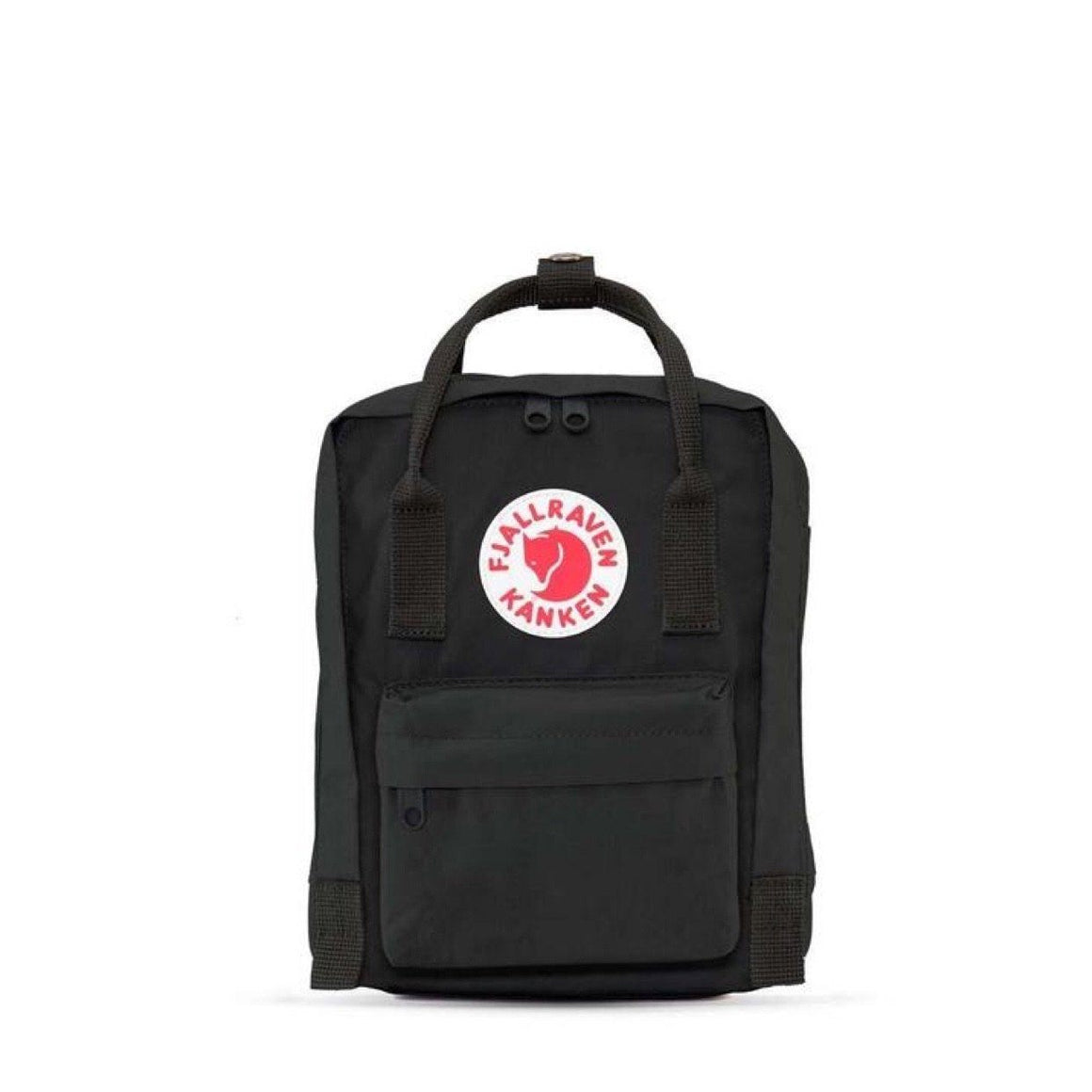 Fjallraven - Kanken Mini 7L Back Pack - Black Backpack Fjallraven