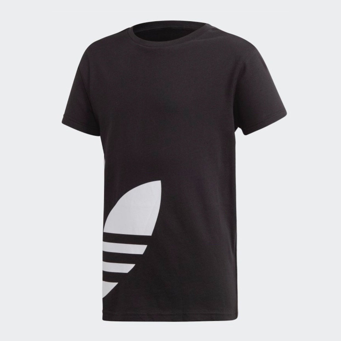 FM5641 Adidas - Youth Big Trefoil T - Black Short Sleeve Shirts Adidas