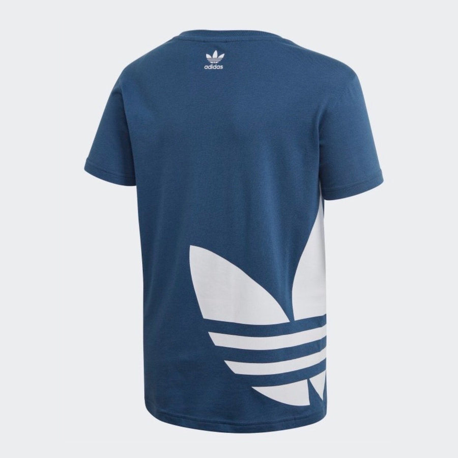 FM5673 Adidas - Youth Big Trefoil T - Night Marine Short Sleeve Shirts Adidas
