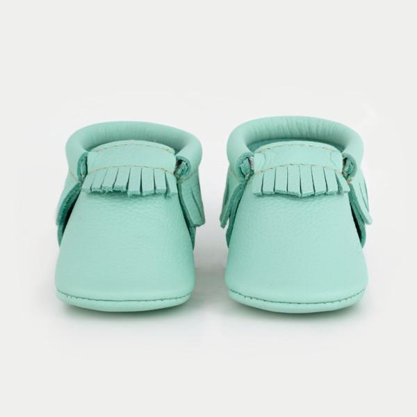Freshly Picked - Cool Mint Moccasins footwear Freshly Picked
