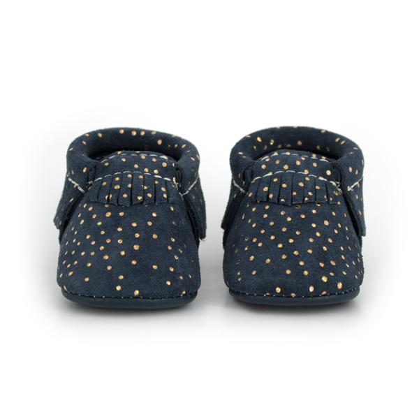 Freshly Picked - Navy Confetti Moccasins footwear Freshly Picked