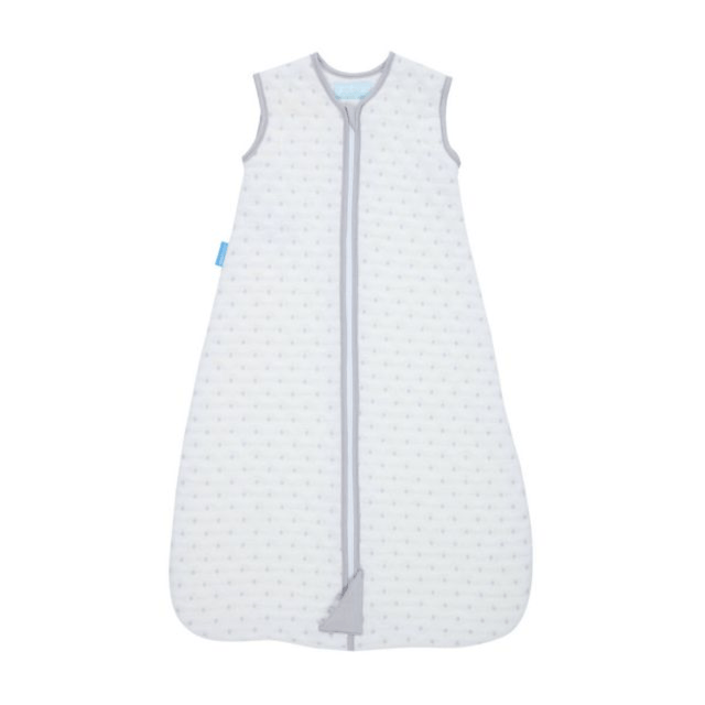 Grobag - Jacquard Grey Dots (2.5 Tog) (0-6 Months) Sleep Sack The Gro Company