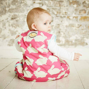 Grobag - Kissing Bunnies (1.0 Tog) Sleep Sack The Gro Company