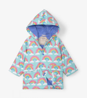 Hatley - Aqua Splash Magical Rainbows Baby Raincoat Raincoat Hatley