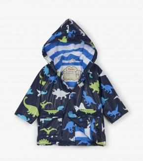 Hatley - Dinosaur Herd Color Changing Baby Raincoat Raincoat Hatley