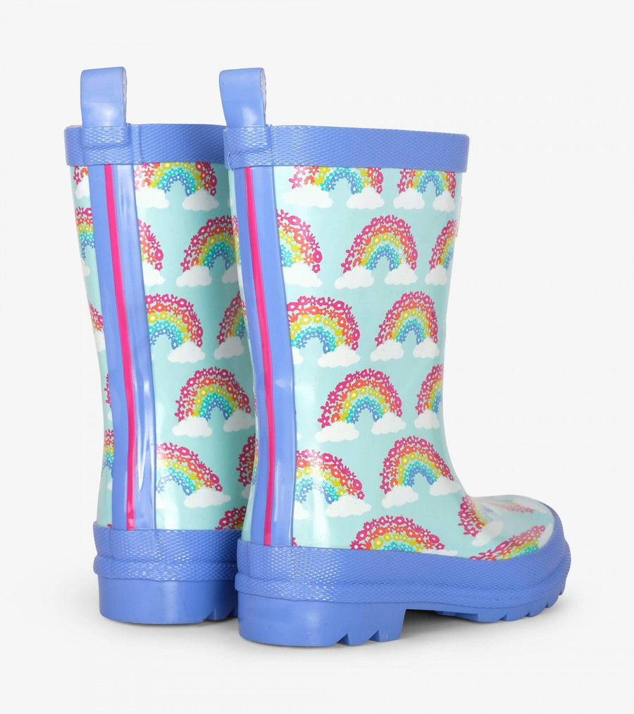 Hatley Magical Rainbows Shiny Rain Boots Rain Boots Hatley