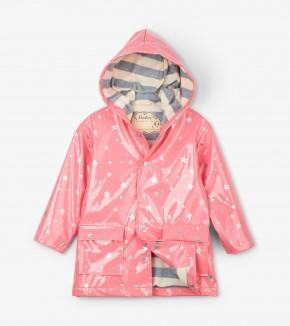 Hatley - Metallic Stars Raincoat Rain Coat Hatley