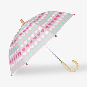 Hatley - Multicolor Hearts Umbrella Umbrella Hatley