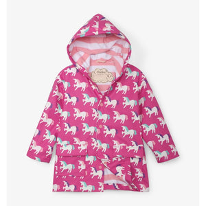 Hatley - Mystical Unicorns Color Changing Splash Jacket Rain Coat Hatley