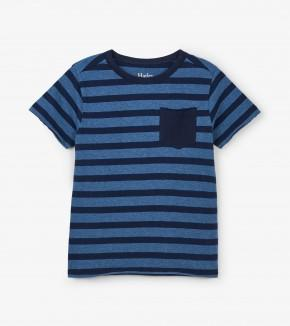 Hatley Solstice Stripe Graphic Tee Short Sleeve Shirt Hatley