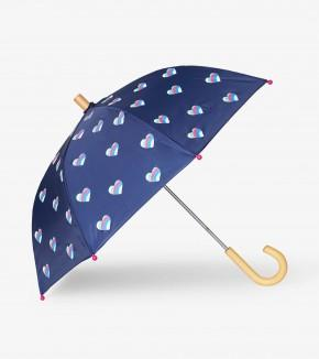 Hatley - Striped Hearts Umbrella Umbrella Hatley
